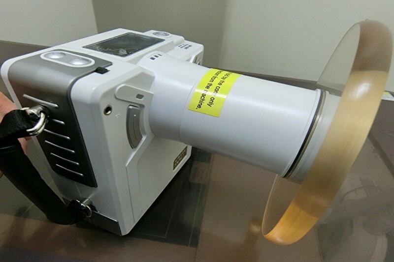 ポータブルX線照射機